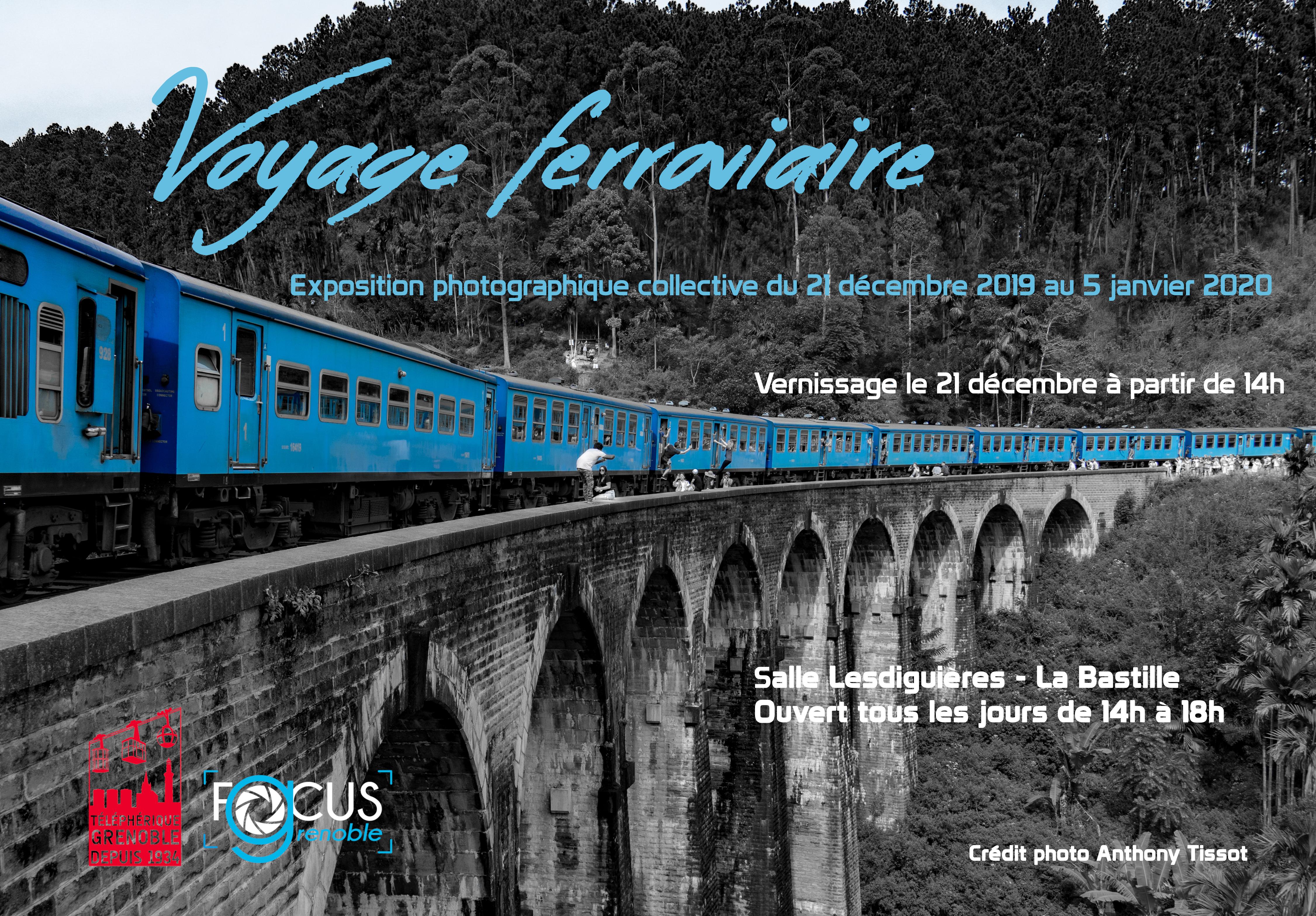 Expo Bastille 2019-2020 «Voyage ferroviaire»