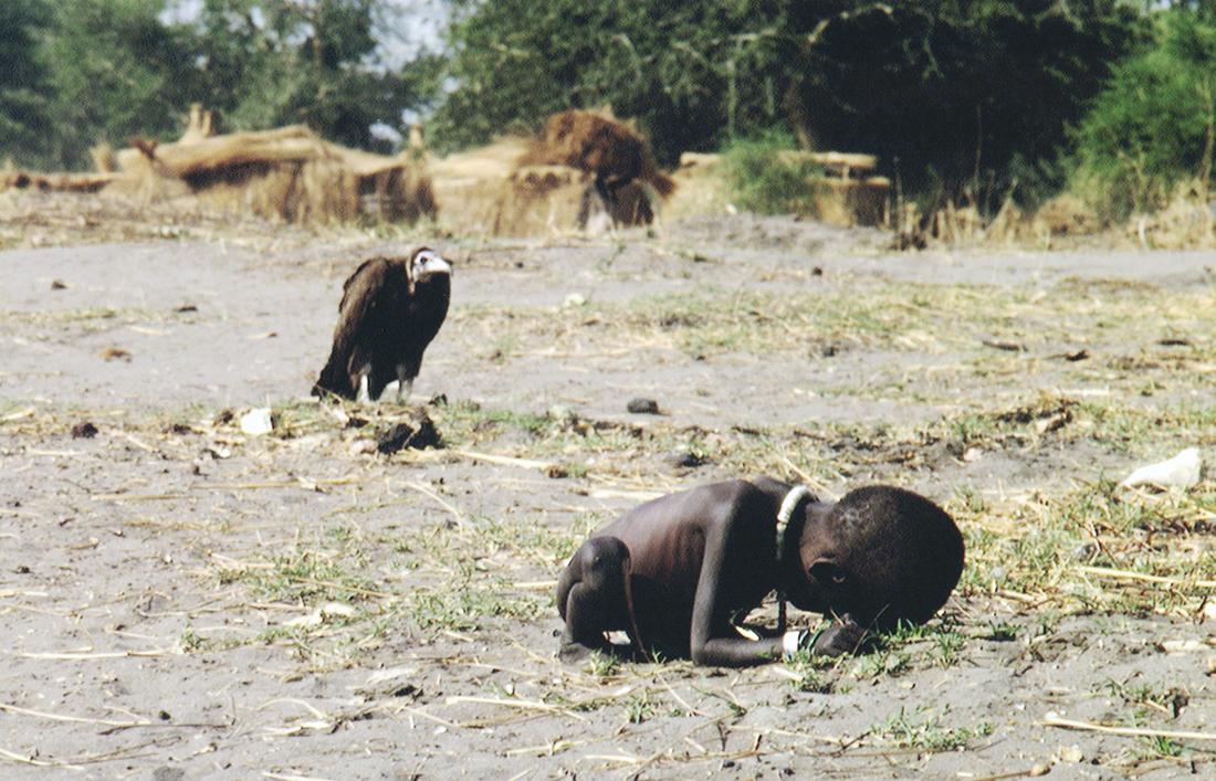 Histoire d'une photo # 10 ; La fillette et le vautour de Kevin CARTER : le photojournalisme