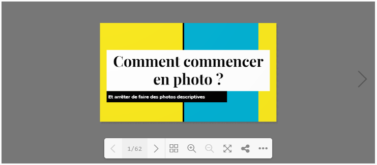 [GrenoZoom] « Comment commencer en photo » – 23/10/2020