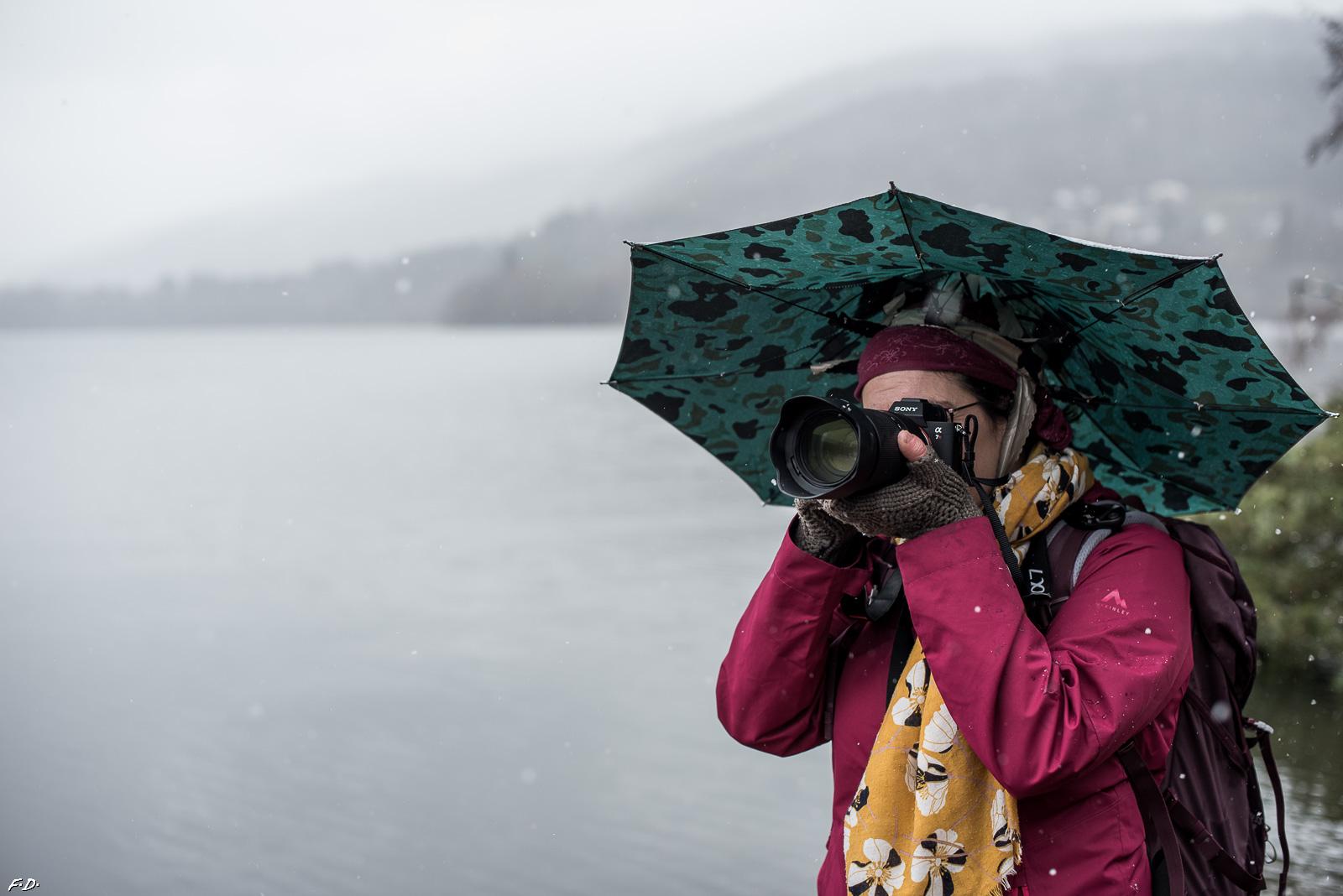 GrenoWalk glacé au lac de Pétichet le 07/02/2021